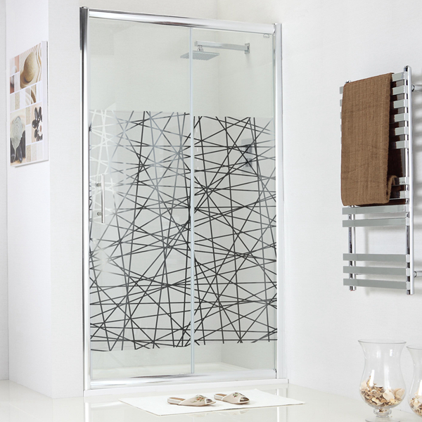 淋浴房玻璃镀钛